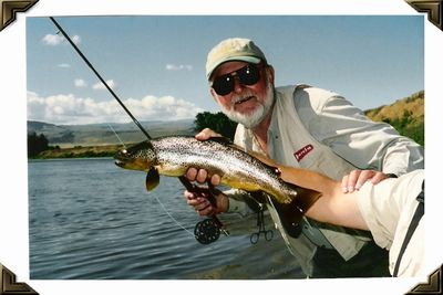Bighorn River Wyoming - Rainbow - Summer, 2002