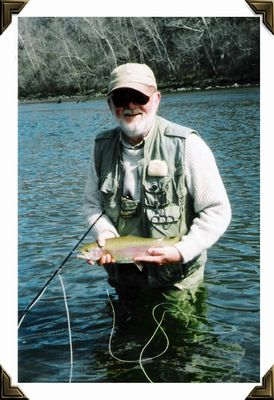 Northfork River Arkansas - Rainbow - Fall, 2002